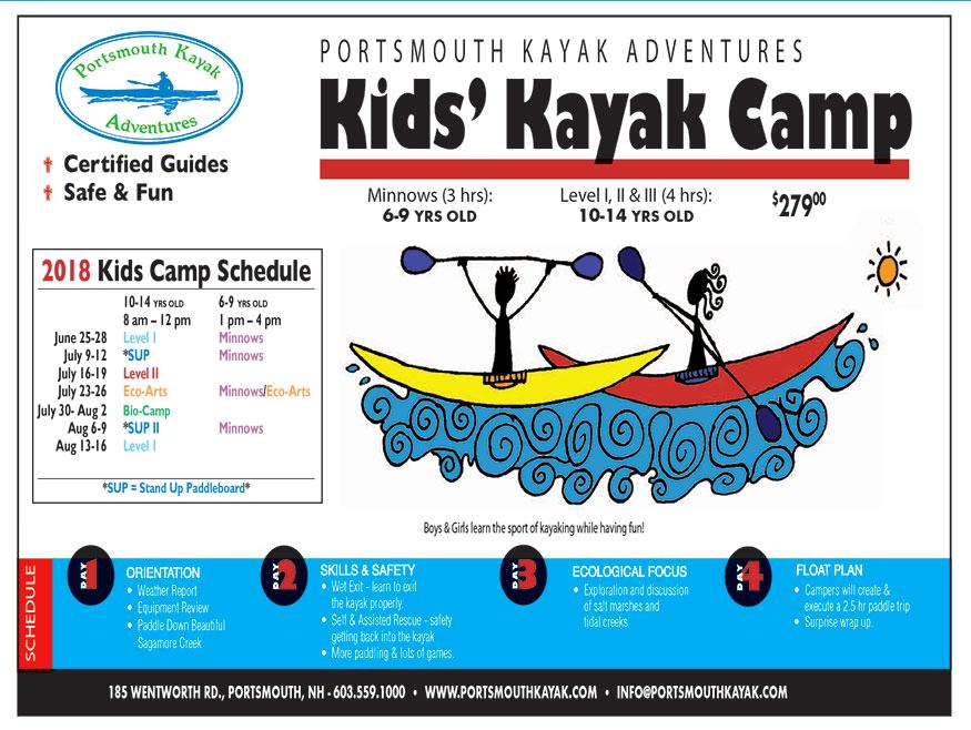 Portsmouth Kayak Adventures Portsmouth Nh Kayak Tours Rentals